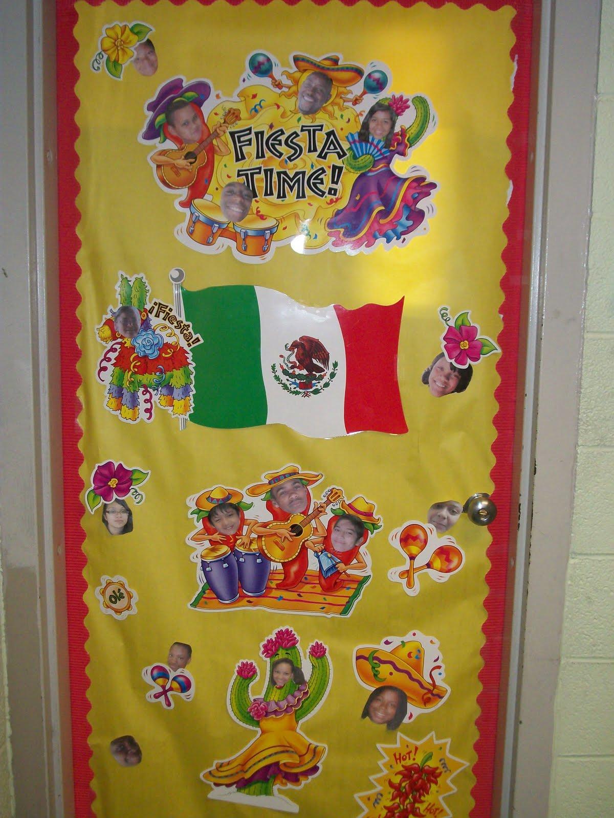 Spanish Classroom Door Decorations : Ms cunningham s class cinco de mayo door decorations