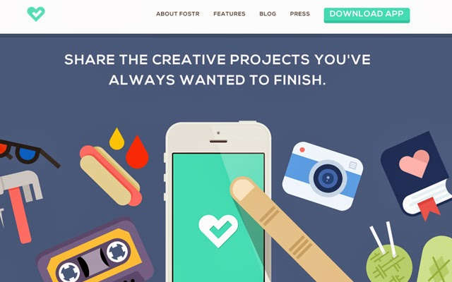 35 Website Layouts using Flat Illustrated Graphics and Icons
