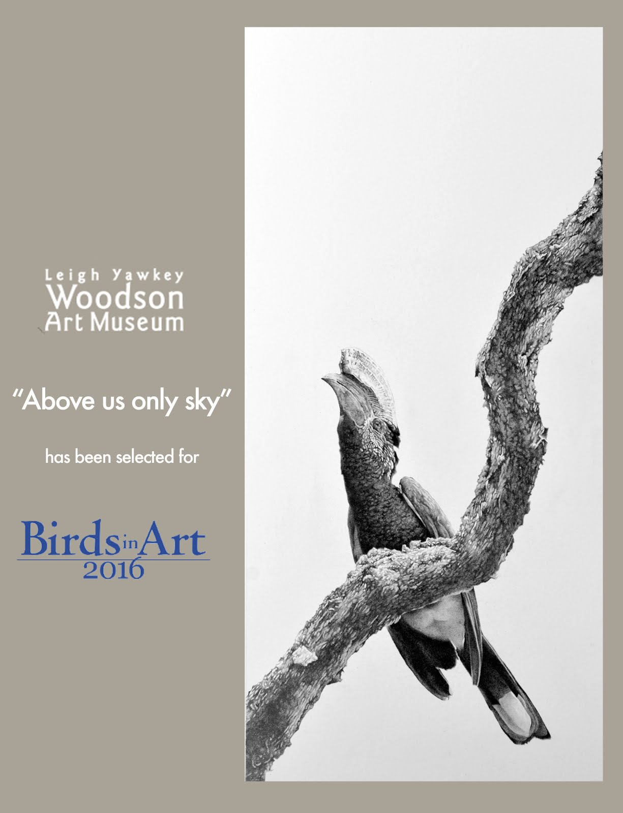 BIRDS IN ART 2016
