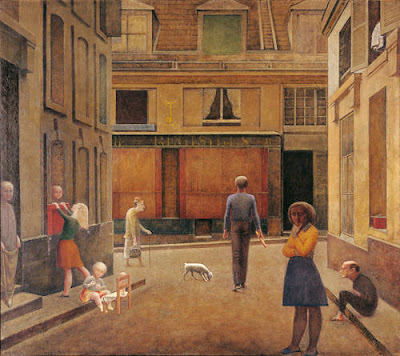 Balthus - The Passage du Commerce Saint-André,1952-1954.