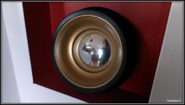 miroir de sorcière déco loft moderne