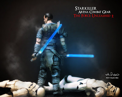 Starkiller46 Star Wars custom action figures by Dayton Allen