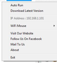 Mouse Server di Komputer