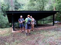Estructura protectora del Fornot de Puigdomènec