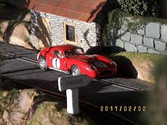 MASERATI 450S Costin Zagato LM 1957