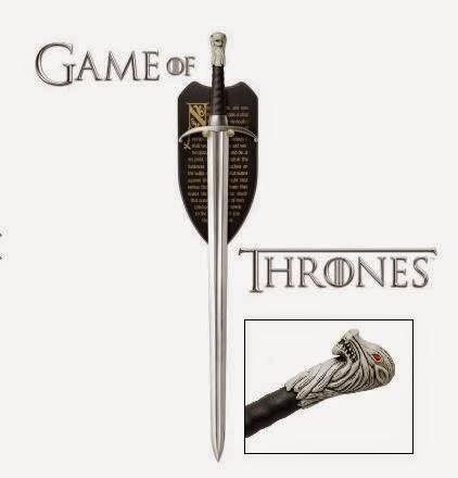 Espada garra Juego de Tronos Jon Nieve
