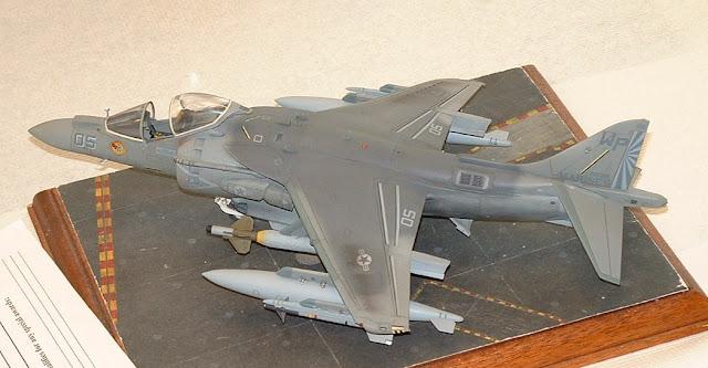 AV-8B Harrier II model photo