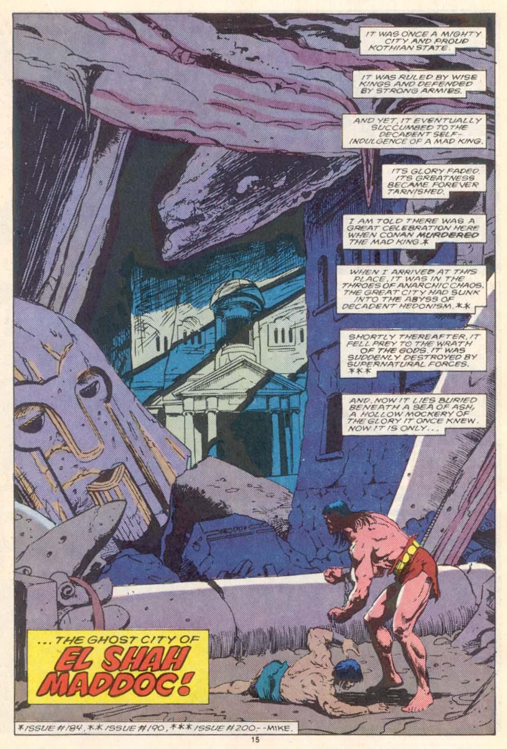 Conan the Barbarian (1970) Issue #208 #220 - English 12