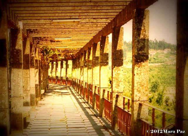 Celorico de Basto garden walkway