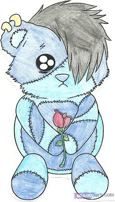emo teddy bear images