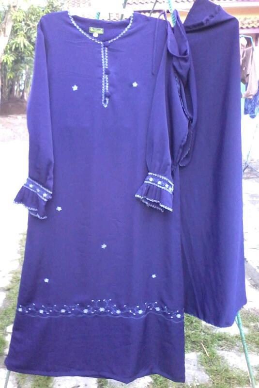 Stelan Gamis Akhwat Hasanah Collection