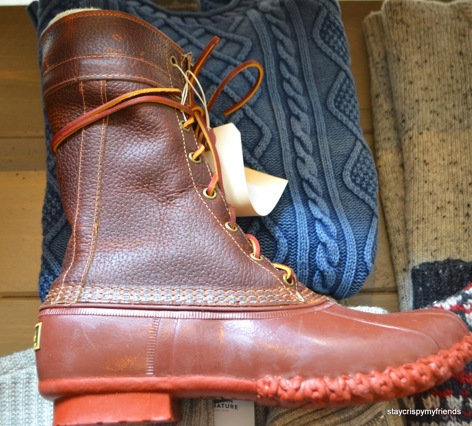 LL Bean Boots Men Bison Boot