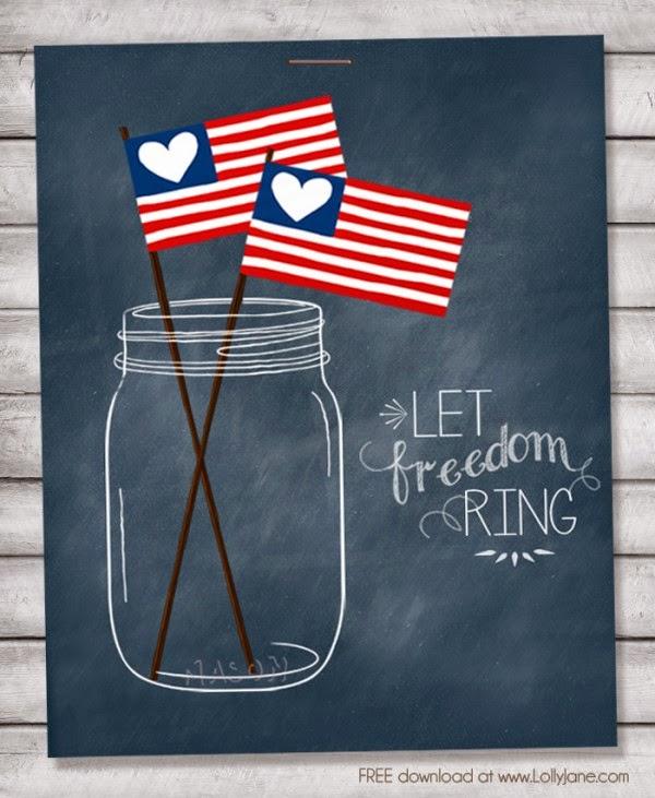http://lollyjane.com/free-patriotic-mason-jar-printables/