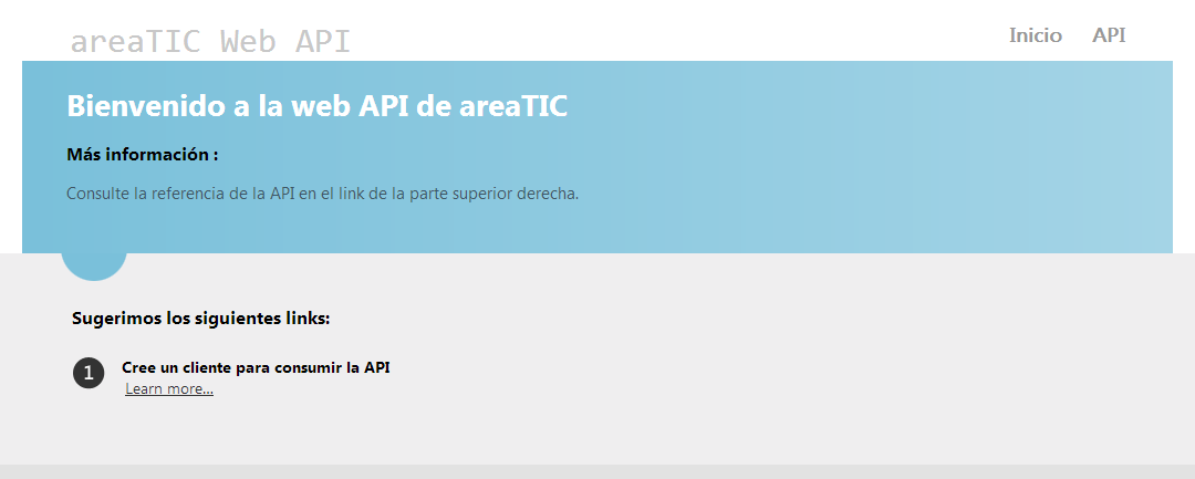 areaTIC, ASP.NET MVC 4.0, AreaTic WebApi
