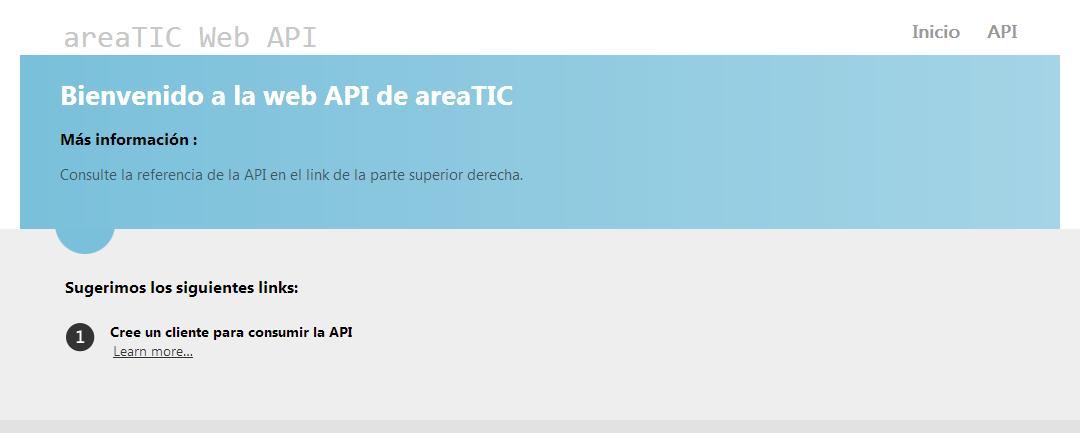 areaTIC, ASP.NET MVC 4.0, AreaTic WebApi
