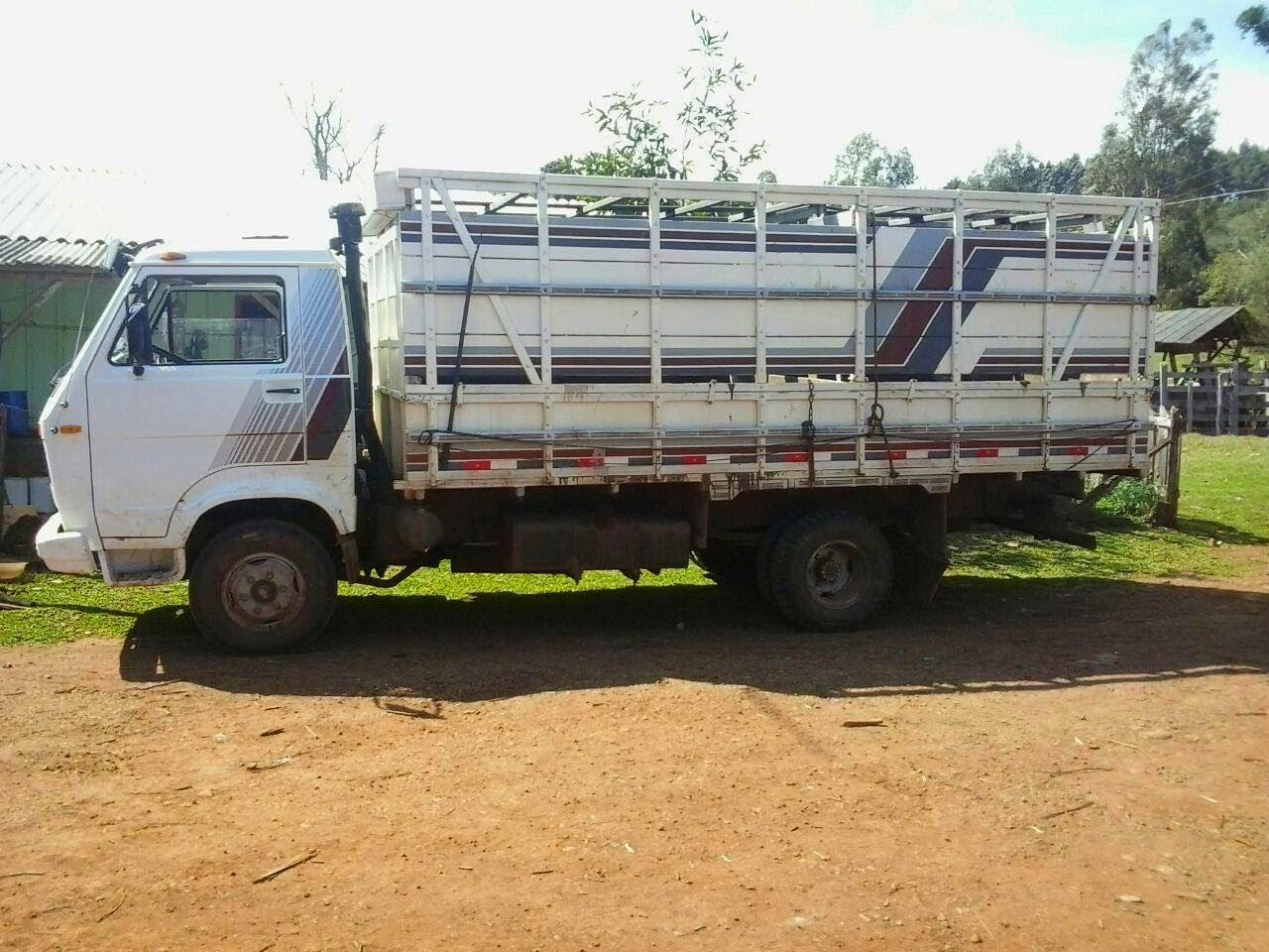 Laranjeiras do Sul:Vende-se caminhão boiadeiro em perfeito estado de conservação