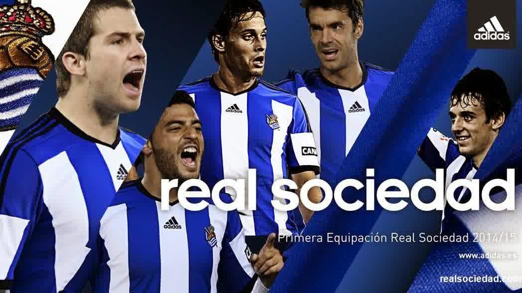 Foto Jersey Real Sociedad Terbaru 2014/2015
