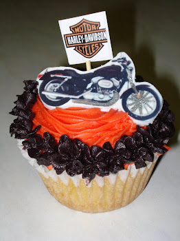 Harley Davidson Cupcakes