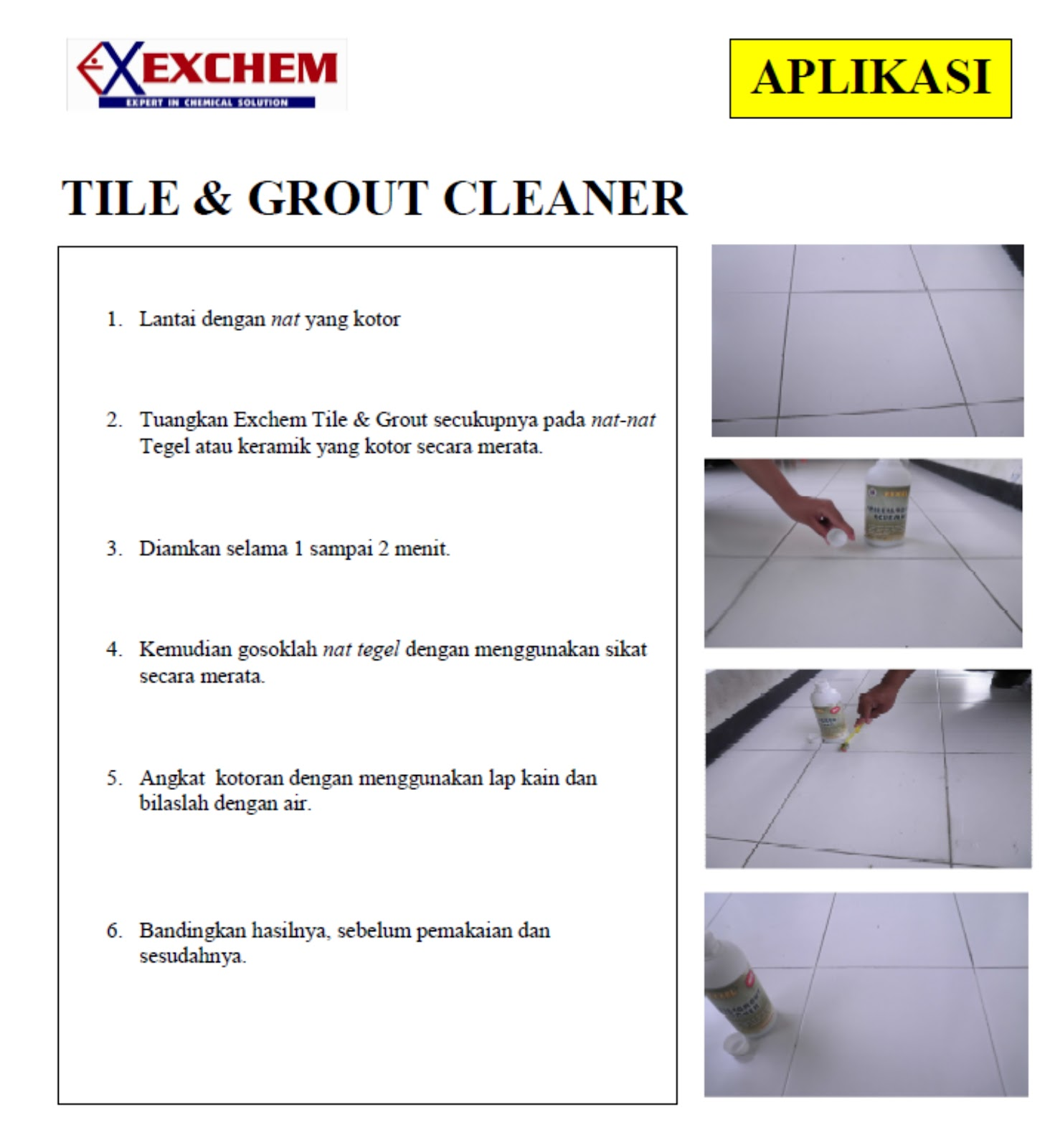 Safeclean other products - Clean tile grout efficiently ...