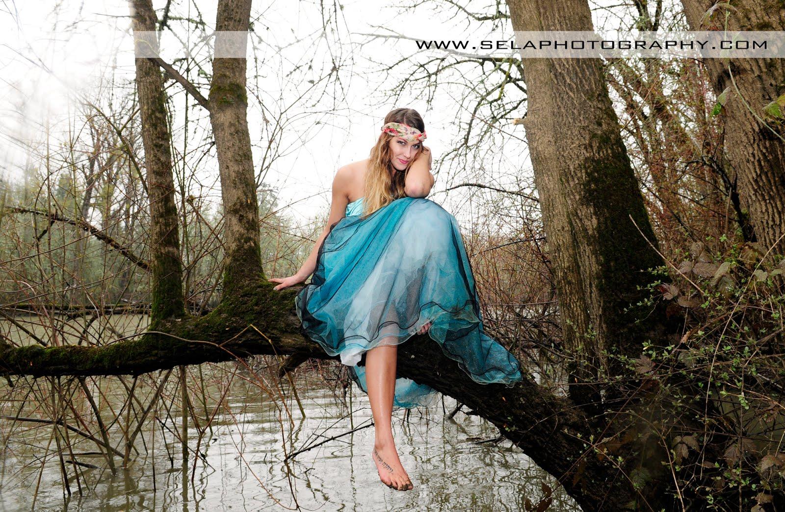 Prom Dress in Mud