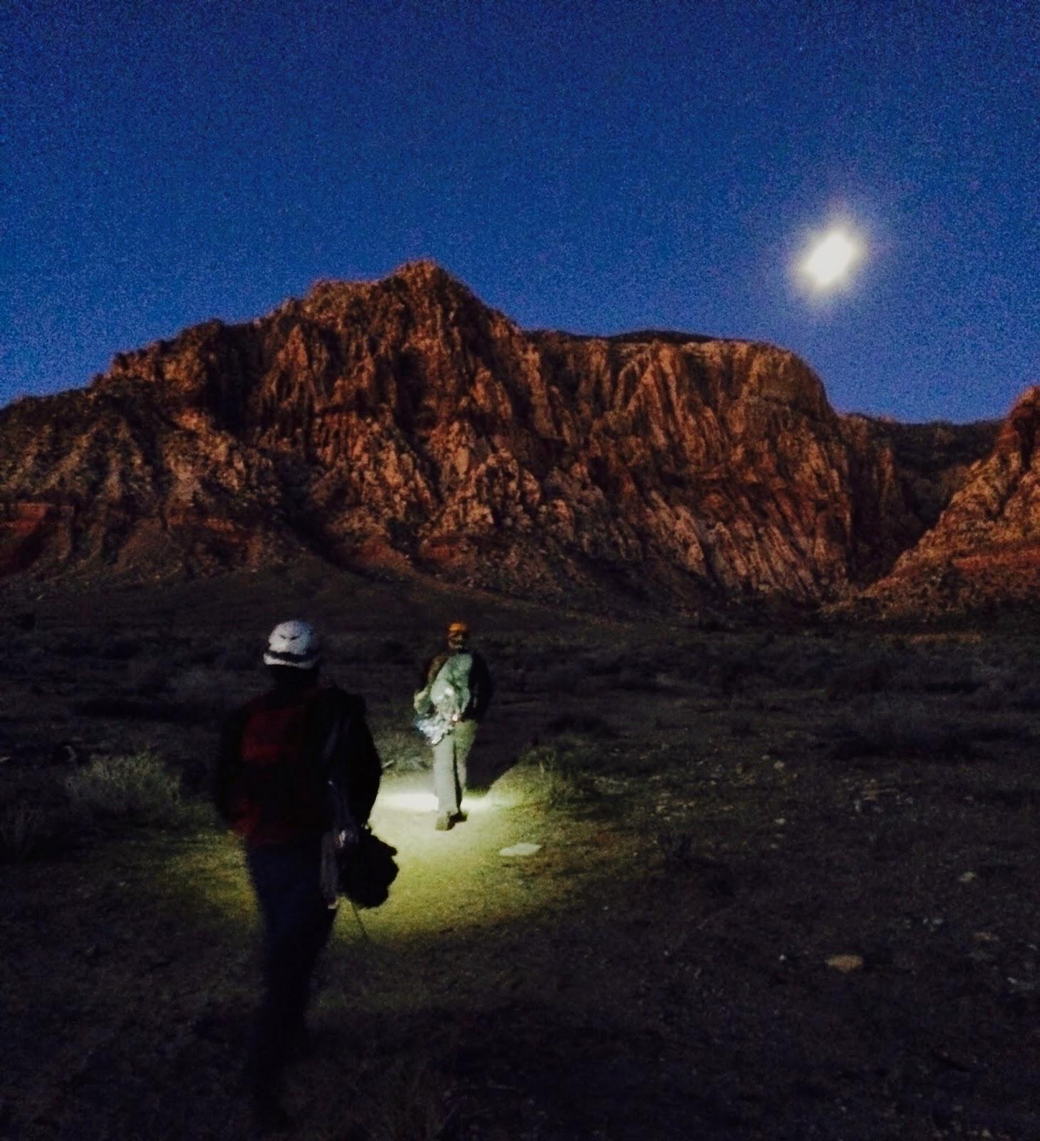 Black Diamond Spot Headlamp in Red Rock Canyon