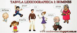 TABVLA LEXICOGRAPHICA I
