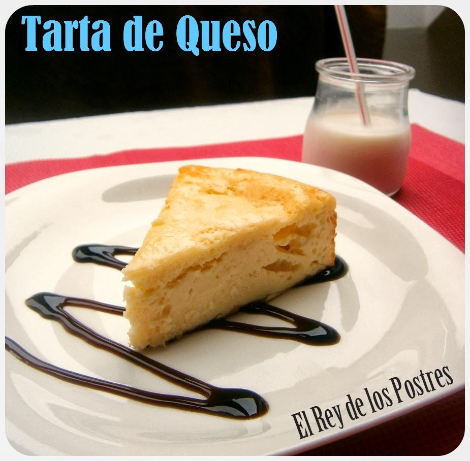 Tarta de Queso,Cheesecake Rápido.