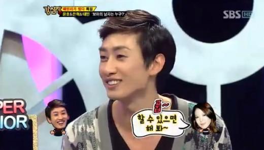 Eunhyuk hampir mencium BoA