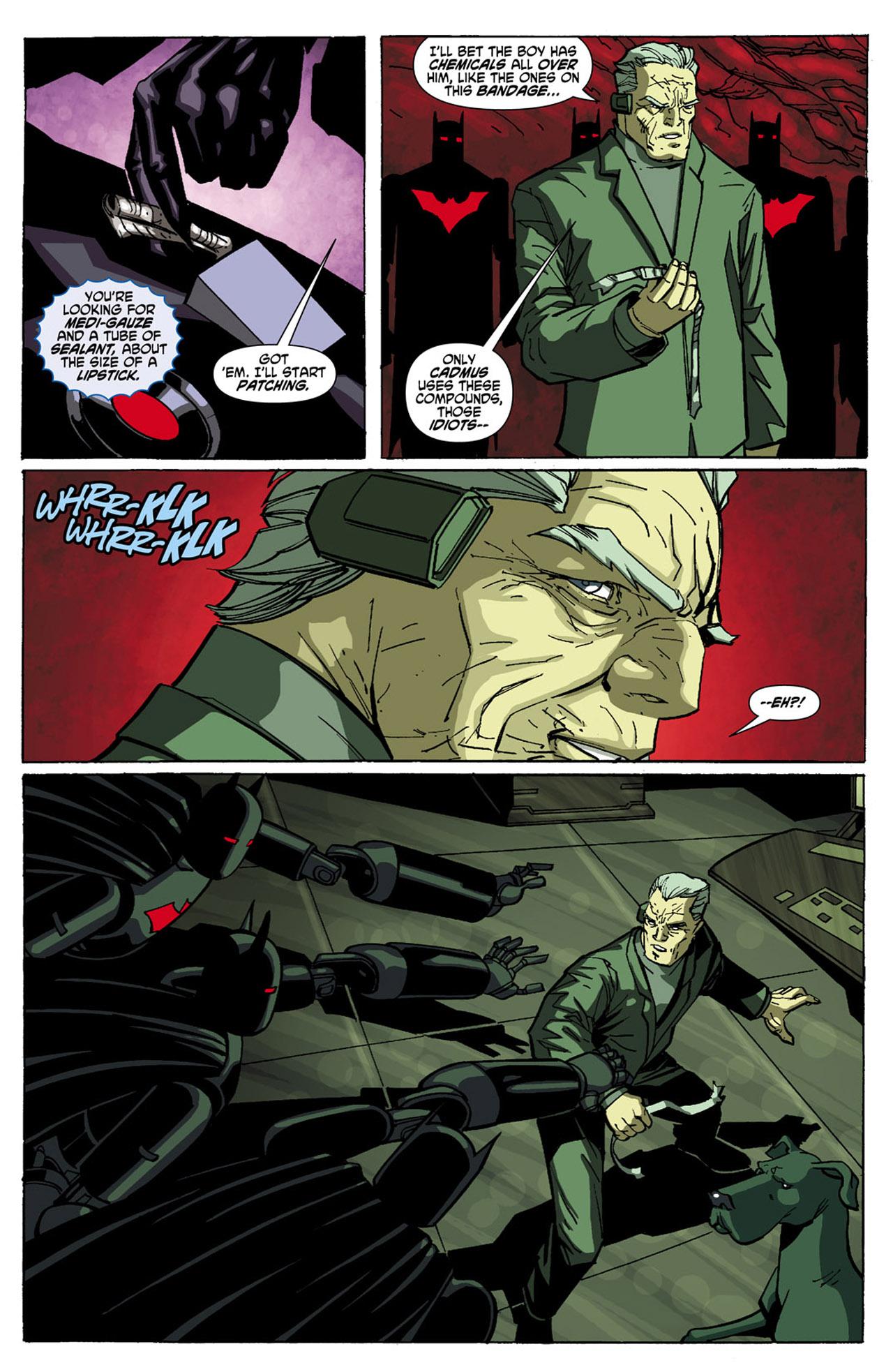 Batman Beyond (2010) Issue #5 #5 - English 9
