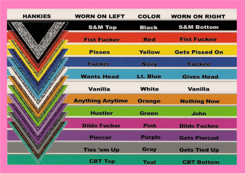 from Sebastian gay bandana colors