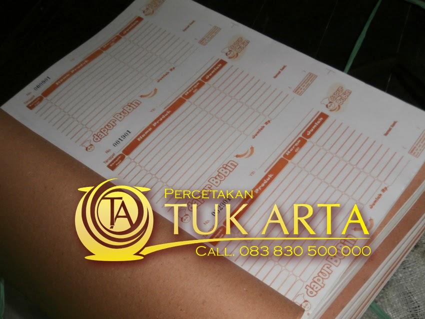 cetak nota surabaya