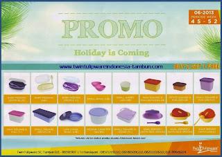 Promo Twin Tulipware Buy 2 Get 1 Free Bulan November - Desember 2013