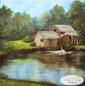 The Old Weathered Mill by Sandy McTier