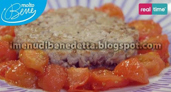 Tartare di Tonno con Pomodori Confit di Benedetta Parodi
