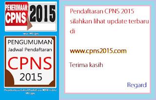 pendaftaran cpns 2015