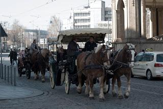 Cu trasura prin Dresda