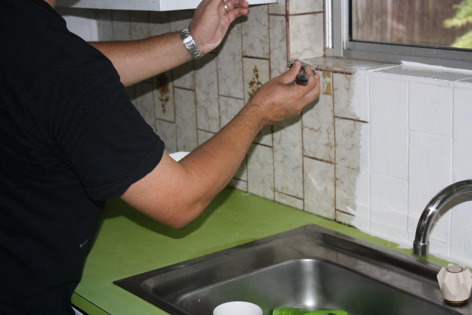 Paint Over Tiles Kitchen