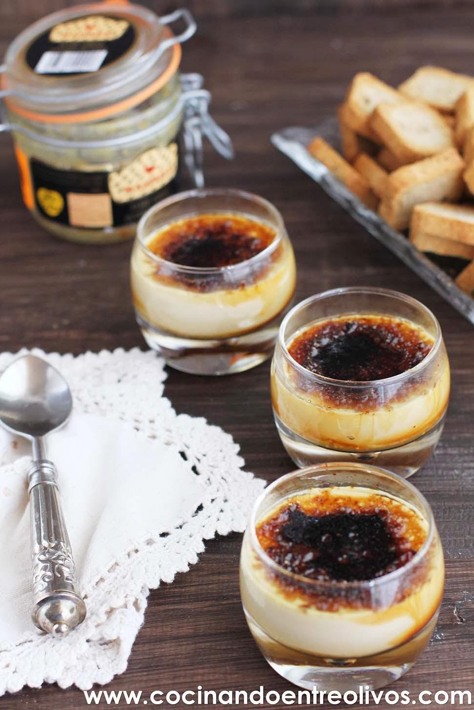 Cocinando entre olivos crema de foie con mermelada de for Cocinando entre olivos navidad