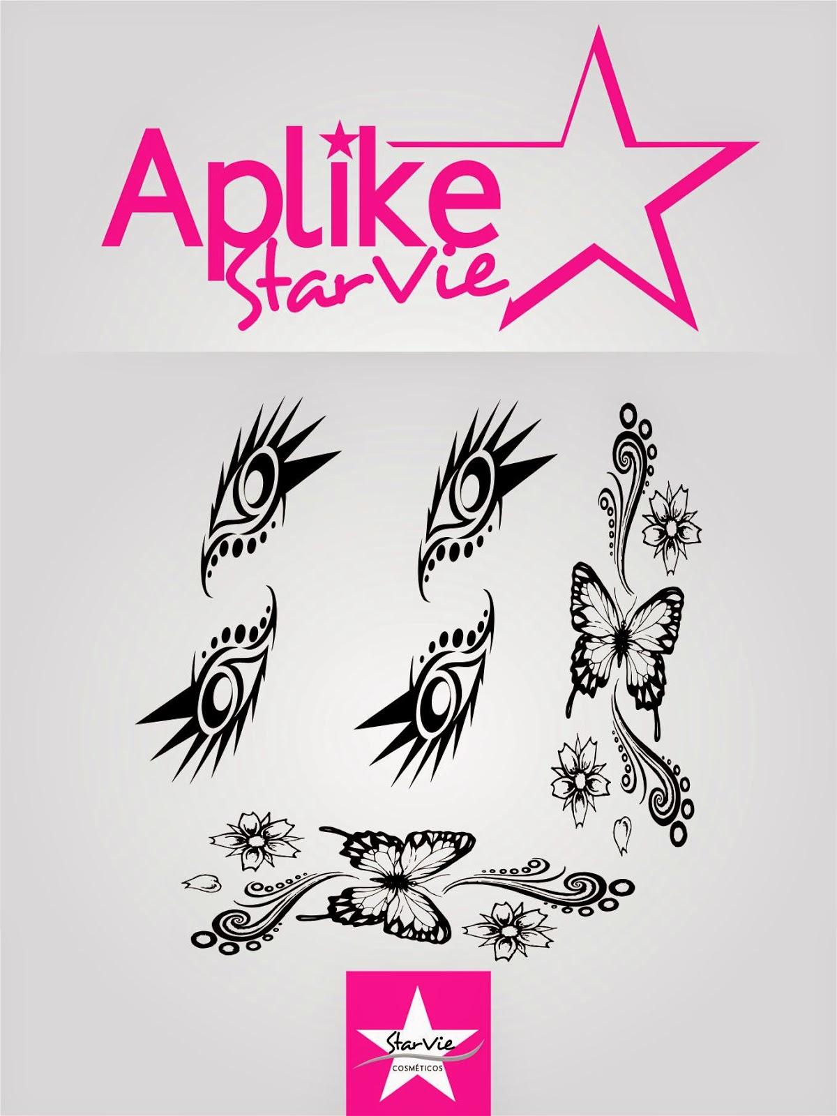 Tatuagem para os Dedos StarVie