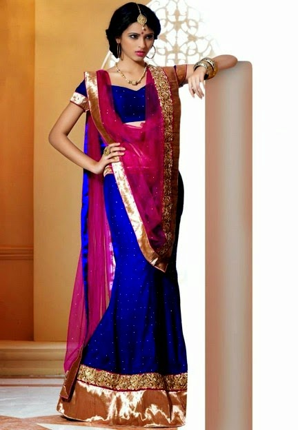 Beautiful Indian Lehngas By Utsav For Girls