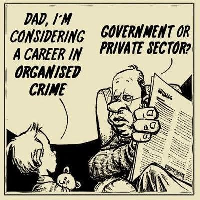 Councils = organised crime