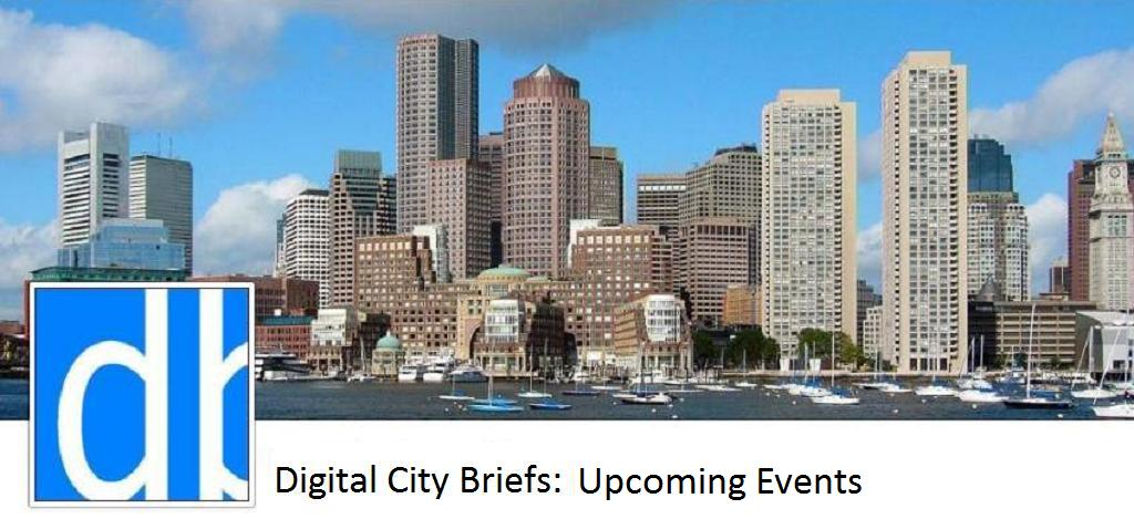 Digital City Briefs: Upcoming Events