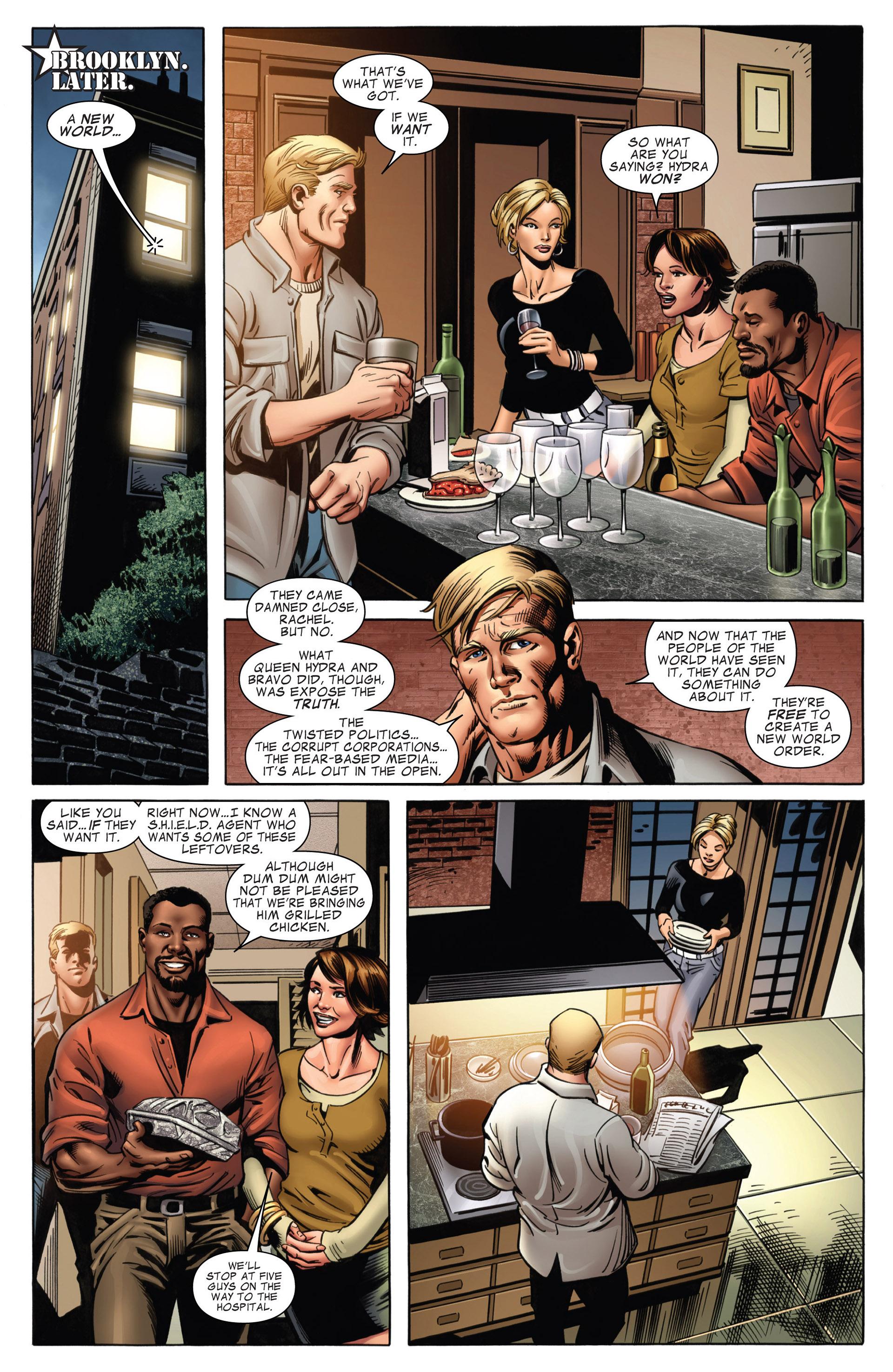 Captain America (2011) Issue #18 #18 - English 19
