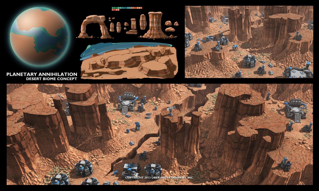 Planetary Annihilation: un STR à échelle Galactique Pa