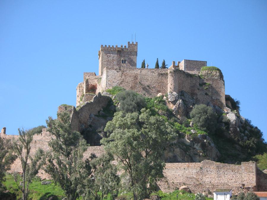 Entorno Castillo de Alburquerque