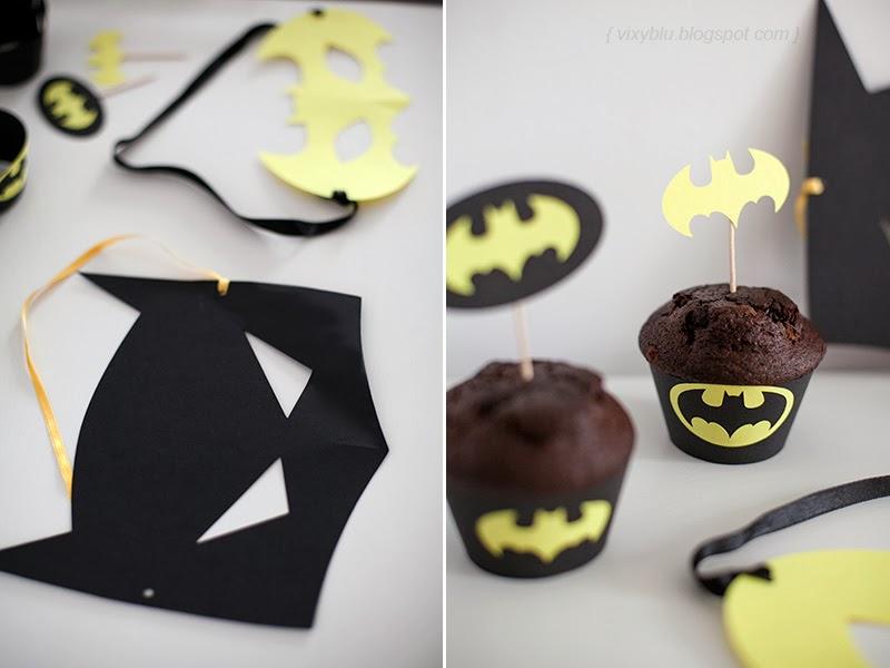 stegulete prajituri batman, cupcake batman, petreceri personalizate, masca batman