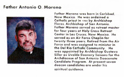 Father Antonio O. Moreno: Spiritual Director of The Legion of Mary Del Rio Catholic Community