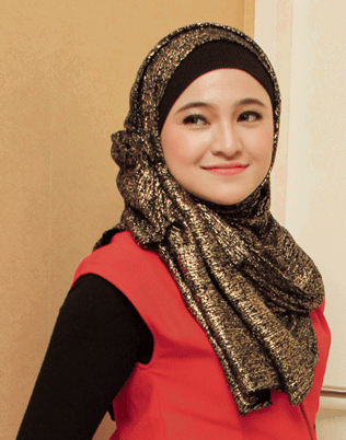 Model Hijab Modern Ala Marshanda