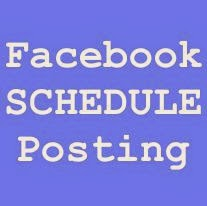 How to make schedule Posts on Facebook Page?