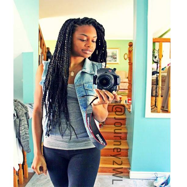 long braids on Tumblr